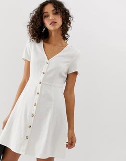 Vero Moda - button front tea dress