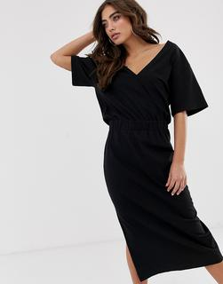 G-Star - Bodhana drapey midi dress
