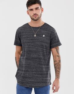 G-Star - Starkon - T-Shirt in schwarzem Kalk - Schwarz