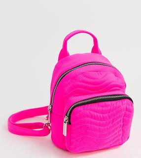 Skinnydip - Zadie pink neon backpack