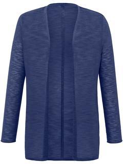 Samoon - Strickjacke Samoon blau