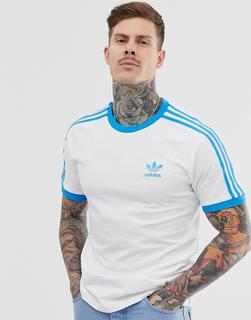adidas Originals - California - Weißes T-Shirt - Weiß