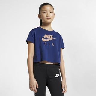 Nike - Air Older Kids' (Girls') Crop Top - Blue