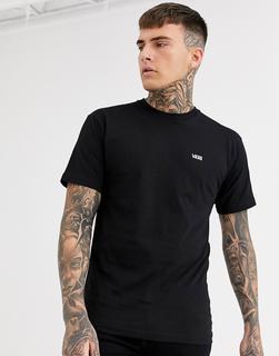 Vans - Schwarzes T-Shirt mit kleinem Logo - Schwarz