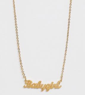 """Image Gang - """"Image Gang - """"""""Babygirl""""""""-Halskette in Gold - Gold"""""""