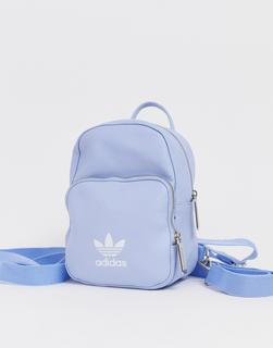 adidas Originals - mini backpack in pale blue