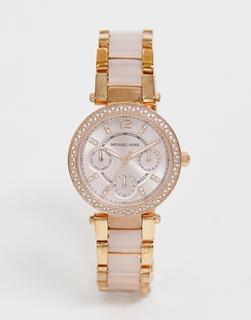 MICHAEL KORS - Mini Parker MK6110 - Armbanduhr in Roségold - Gold