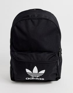 adidas Originals - Trefoil logo backpack in black