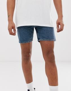 Cheap Monday - Sonic - Jeans-Shorts - Blau