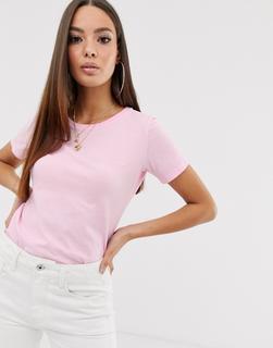 G-Star - Mysid – T-Shirt aus Bio-Baumwolle-Rosa