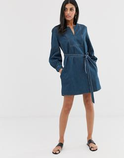 French Connection - denim mini dress