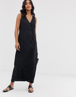 Vero Moda - maxi dress with button detail
