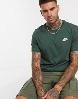 Nike - Logo Club T-Shirt Green