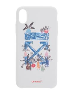 OFF-WHITE C/O VIRGIL ABLOH - iPhone XS Max Graft Arrow White