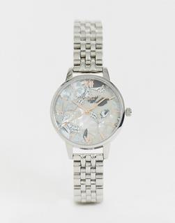Olivia Burton - OB16VM38 Abstract Floral bracelet watch