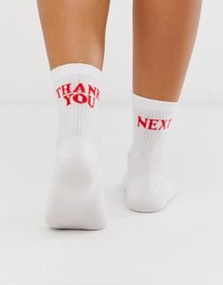 ASOS DESIGN - thank you next ankle socks