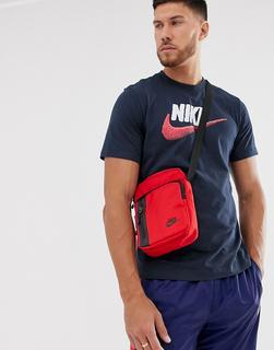 Nike - Swoosh logo t-shirt in navy