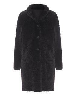GIORGIO BRATO - Vero Shearling Coat Brown