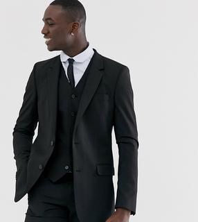 ASOS DESIGN - Tall slim suit jacket in black