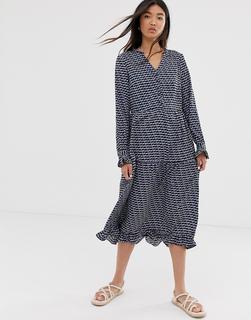ONLY - midi dress in geo print