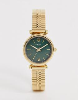 Fossil - ES4645 Mini Carlie mesh bracelet watch 28mm
