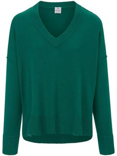 FTC Cashmere - V neck pullover FTC Cashmere green