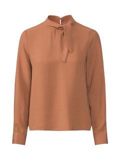 Vero Moda - Bluse ´VMFELICITY L/S KNOT TOP WVN´