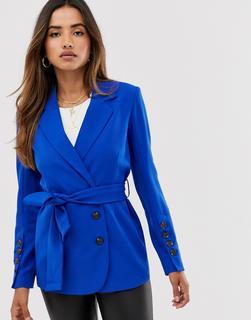 UNIQUE21 - belted blazer