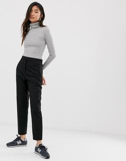 Weekday - tailored trousers in black