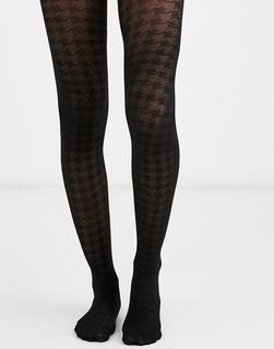 ASOS DESIGN - houndstooth tights
