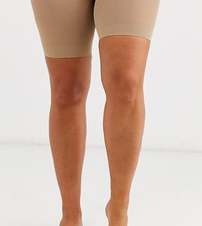 Pretty Polly - curve sheer anti chaffing cooling short in beige