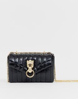 ASOS DESIGN - quilted dragon shoulder bag