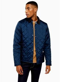 Barbour Beacon - Mens Barbour Beacon Navy Starling Quilted Jacket, Navy