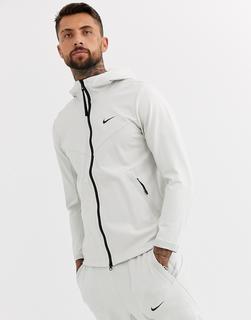 Nike - Tech Pack zip-through sweat in grey