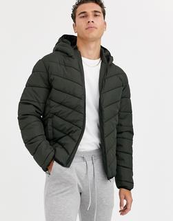 New Look - puffer jacket in khaki