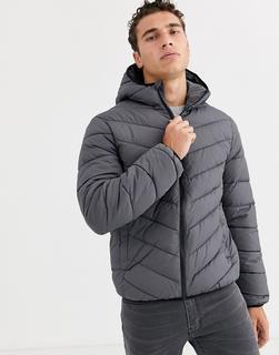 New Look - puffer jacket in grey