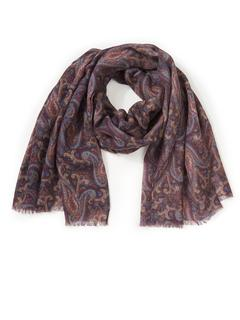 Emilia Lay - Scarf in 100% new milled wool Emilia Lay multicoloured