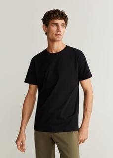 MANGO MAN - Basic-t-shirt aus baumwolle