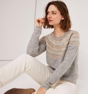 Promod - Jacquard patterned jumper