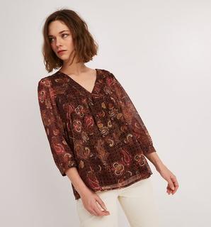 Promod - Patterned voile blouse
