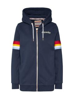 Superdry - Sweatjacke ´RETRO ZIPHOOD´