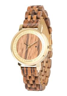 Laimer - Damen Armbanduhr Holzuhr ´Jenni´