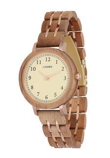 Laimer - Damen Armbanduhr Holzuhr ´Eva´
