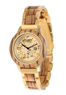 Laimer - Damen Armbanduhr Holzuhr ´Resi´