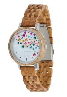 Laimer - Damen Armbanduhr Holzuhr ´Capri´