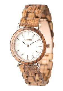 Laimer - Damen Armbanduhr Holzuhr ´Leona´