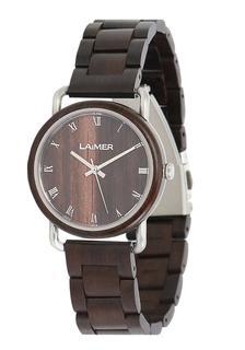 Laimer - Damen Armbanduhr Holzuhr ´Gerda´