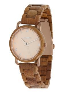 Laimer - Damen Armbanduhr Holzuhr ´Gina´