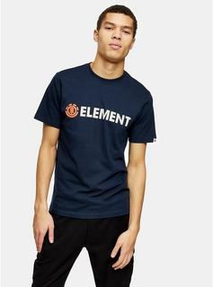 Element - Mens Element Navy Blazin Chest Logo T-Shirt*, Navy