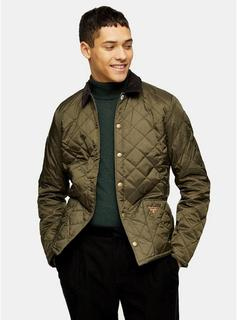 Barbour Beacon - Mens Barbour Beacon Sage Green Quilted Jacket, Green